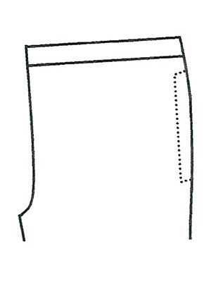パンツポケットサンプルNo.2