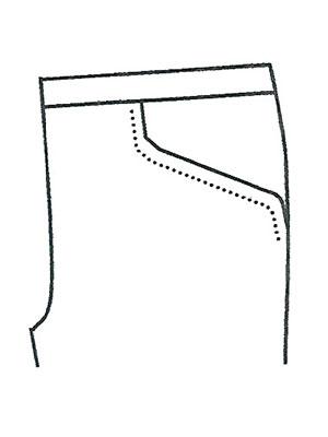 パンツポケットサンプルNo.4